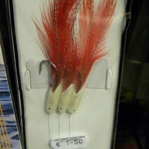 3 HOOK RED HOOKIE 1/0 RIG