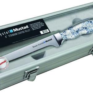 Mustad presentation fillet knife /stone set