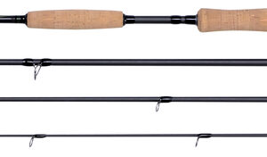 SHAKESPEARE AGILITY XPS 9FT 10WT FLY ROD 3 PCS SALTWATER